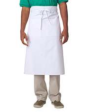 UltraClub 8207 Men Cafe Bistro Apron at GotApparel