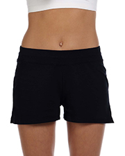 Bella + Canvas 825 Women Cotton/Spandex Fitness Short at GotApparel