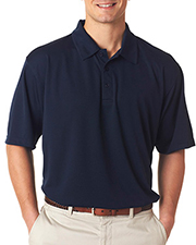UltraClub 8320 Men Platinum Performance Jacquard Polo with TempControl Technology