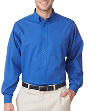 UltraClub 8355 Men Easy Care Broadcloth