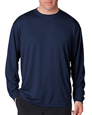 UltraClub 8401  Adult Cool-N-Dry Sport Long-Sleeve Tee at GotApparel