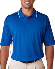 UltraClub 8406  Adult Cool-N-Dry Sport Two-Tone Polo at GotApparel