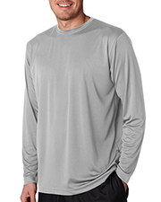 UltraClub 8422 Men Cool & Dry Sport LongSleeve Performance Interlock Tee at GotApparel