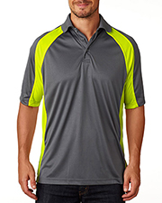 UltraClub Two Tone Performance Polo