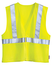 Tri-Mountain 8430 Men s Zone Polyester Safety Vest Ansi Class 2 / Level at GotApparel
