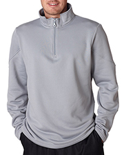 Ultraclub Poly Zip 1/4 Zp Fleece