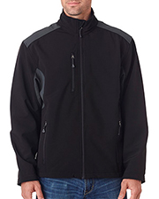 UltraClub 8479  Mens Soft Shell Jacket at GotApparel
