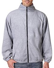 UltraClub Adult Iceberg Fleece Full-Zip Jacket