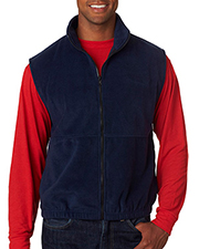UltraClub 8486  Adult Iceberg Fleece Full-Zip Vest at GotApparel