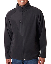 Ultraclub Full-Zip Fleece Jacket