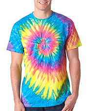 Gildan Tie-Dyes 87 Dyenomite Adult Ripples Pigment-Dyed Tee at GotApparel