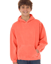 Chouinard 8755   Boys Comfort Colors Youth Hooded Sweatshirt at GotApparel