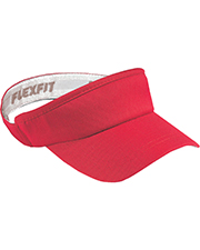 Yupoong 8777 Men Flexfit Wooley Visor at GotApparel