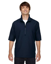 North End 88084   Men M·I·C·R·O Plus Lined ShortSleeve Wind Shirt with Teflon at GotApparel