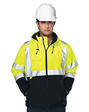 Tri-Mountain 8831   Men Beacon-Men's 100% Polyester Water-Resistant Fleece-Lined Safety Jacket at GotApparel