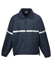 Tri-Mountain 8835   Men Sector-Men Windproof/Water Resistant Heavyweight Safety Jacket at GotApparel