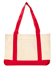 UltraClub 8869   Unisex Canvas Boat Tote at GotApparel
