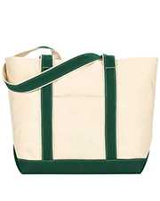 UltraClub 8871   Unisex Large Canvas Boat Tote at GotApparel
