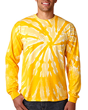 Gildan Tie-Dyes 89   Men Dyenomite Adult Long-Sleeve Cyclone Tee at GotApparel