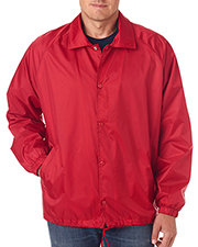UltraClub 8944   Men Nylon Coaches' Jacket at GotApparel