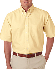 UltraClub 8972   Men Classic WrinkleFree ShortSleeve Oxford at GotApparel