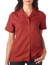 UltraClub 8981 Women Ladies' Cabana Breeze Camp Shirt