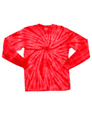 Gildan Tie-Dyes 89B    Gildan Tie-Dye Youth One-Color Long-Sleeve Cyclone Tee  at GotApparel