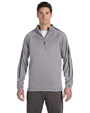 Russell Athletic 8TPEFM Men Tech Fleece QuarterZip Cadet at GotApparel