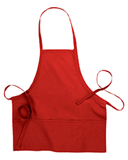 Edwards 9002 Unisex Bib Apron With Pockets at GotApparel