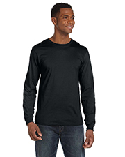 Anvil 949 Men Lightweight LongSleeve TShirt at GotApparel