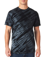 Gildan Tie-Dyes 95 Dyenomite Men Tiger Stripe Tee at GotApparel