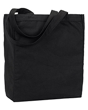 UltraClub 9861 Unisex Recycled Cotton Canvas Tote With Gusset at GotApparel
