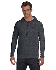 Anvil 987AN Ringspun Long-Sleeve Hooded T-Shirt at GotApparel