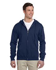 Jerzees 993 Men 8 oz., 50/50 NuBlend Fleece Full Zip Hood