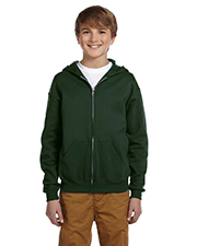 Jerzees 993B  Youth 50/50 NuBlend Full Zip Hoody at GotApparel