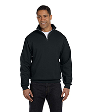 Jerzees 995M 8 oz., 50/50 NuBlend® Quarter-Zip Cadet Collar Sweatshirt at GotApparel