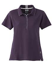 Adidas A10  ClimaLite Ladies Interlock Polo at GotApparel