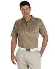 Adidas A119 Men's ClimaLite® Classic Stripe Short-Sleeve Polo at GotApparel