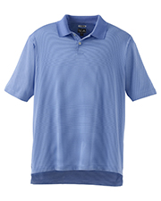 Adidas A19  ClimaCool Classic Stripe Polo at GotApparel