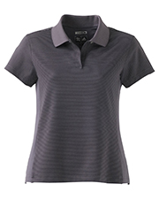 Adidas A20  ClimaCool Ladies Classic Stripe Polo at GotApparel