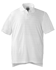 Adidas A61 ClimaCool® Mens Mesh Solid Textured Polo at GotApparel