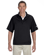 Adidas A67 ClimaProof® Mens Short-Sleeve Wind Shirt at GotApparel