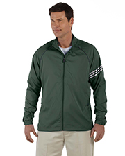 Adidas A69 ClimaProof® Mens 3-Stripes Full-Zip Jacket at GotApparel