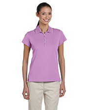Adidas A89 Women's ClimaLite® Tour Jersey Short-Sleeve Polo at GotApparel