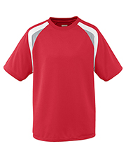 Augusta AG875 Men's Wicking Mesh TriColor Jersey T-Shirt at GotApparel