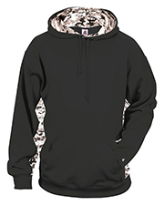 Badger B2464 Men Performance Fleece Digital Insert Hood at GotApparel