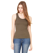Bella + Canvas 4000 Women 2x1 Rib Tank