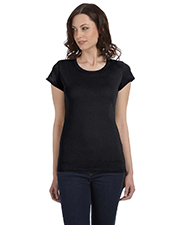 Bella + Canvas B8101 Women Sheer Jersey ShortSleeve TShirt