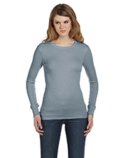 Bella + Canvas Ladies' Thermal Long-Sleeve T-Shirt