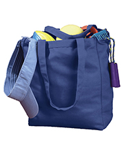 Big Accessories / BAGedge BE008 BAGedge Canvas Book Tote at GotApparel
